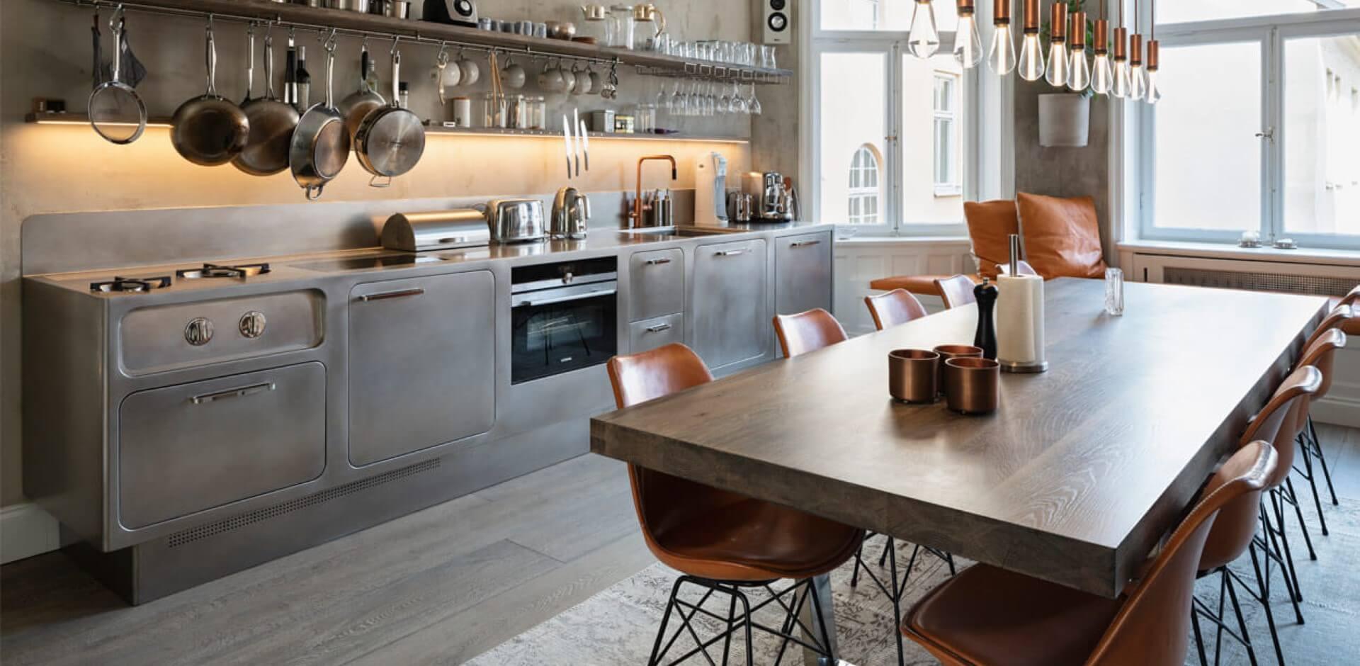 Abimis Project - Cocinas acero inoxidable